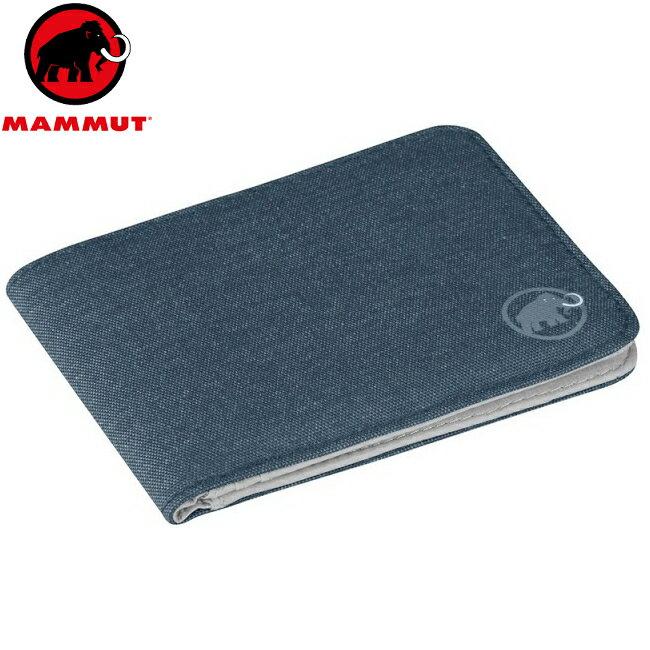 Mammut 長毛象 拉鍊錢包/皮夾/短夾/財布 Flap wallet melange 2520-00710 5851黯寒青