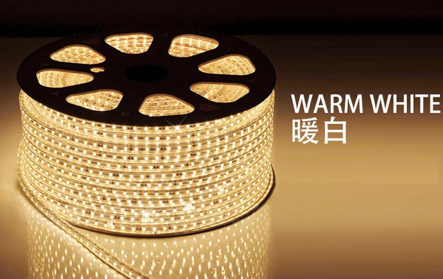 ├登山樂┤Hot Camp 露營專用LED 5050加寬防水燈條附收納袋(附插頭) 多種尺寸 暖白光 (黃) #HC806