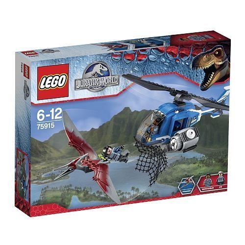 【LEGO 樂高積木】侏儸紀世界系列 - 捕獲無齒翼龍 LT-75915
