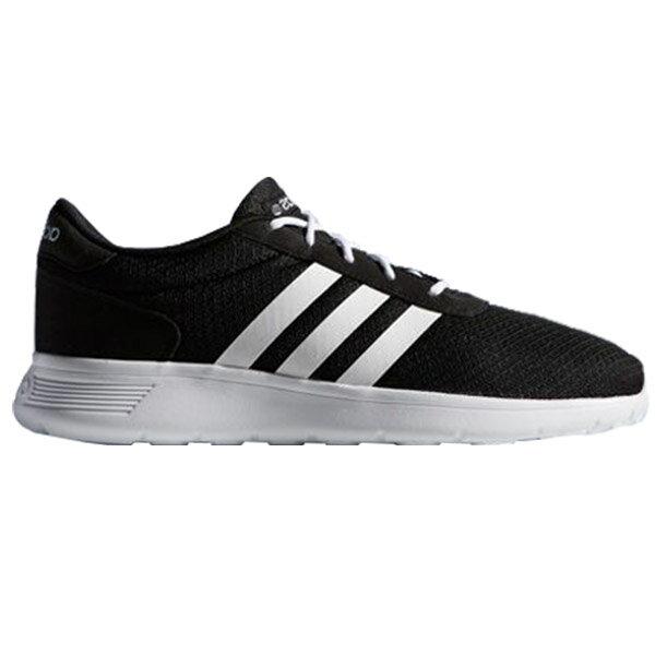 【ADIDAS】LITE RACER 休閒鞋 NEO 黑色 男鞋 -F76401