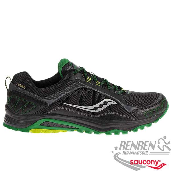 SAUCONY  EXCURSION TR9 Gore-Tex 男慢跑鞋 (黑) 耐磨 避震