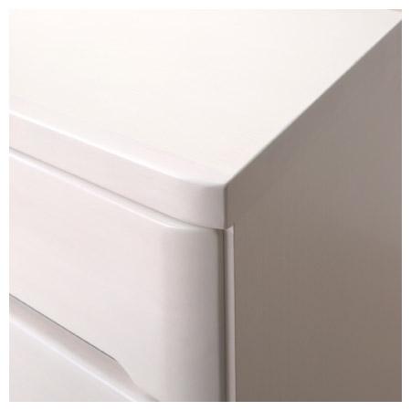 ◎(OUTLET)矮整理衣櫃 斗櫃 OUKA2 120LC WH 福利品 NITORI宜得利家居 4