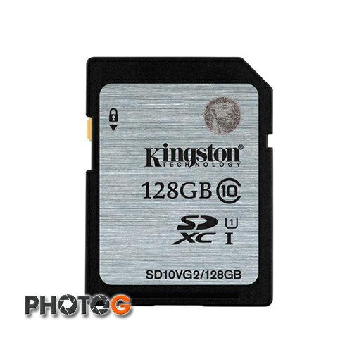 金士頓 KingSton 128GB 128G SDXC Class 10 記憶卡 ( SDX10VG2/128GB SD10VG2 , 終身保固) 非 SDHC