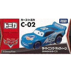 【Fun心玩】C-02 DS41891 麗嬰 TOMICA TOMY CARS 麥坤 汽車總動員 閃亮麥坤 聖誕 生日禮物