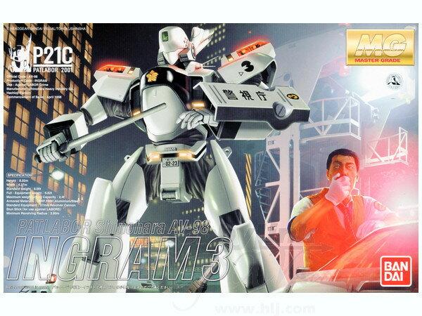 ◆時光殺手玩具館◆ 現貨 組裝模型 模型 BANDAI MG 1/35 機動警察 AV-98 英格蘭姆3號機