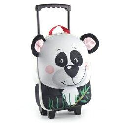 德國okiedog 3D動物造型兒童行李箱-熊貓