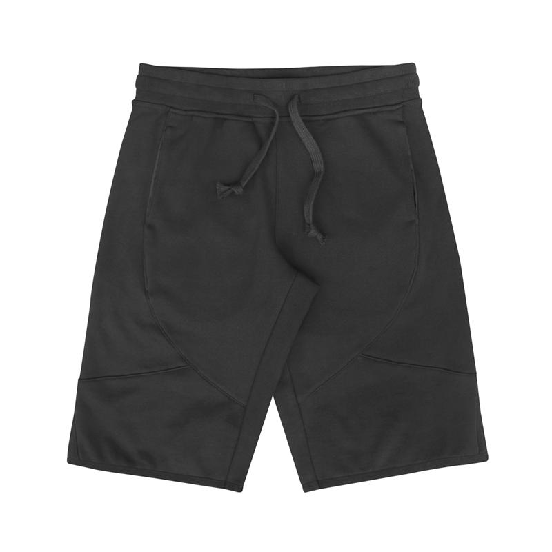 DrJ短棉褲 黑色 (男款)