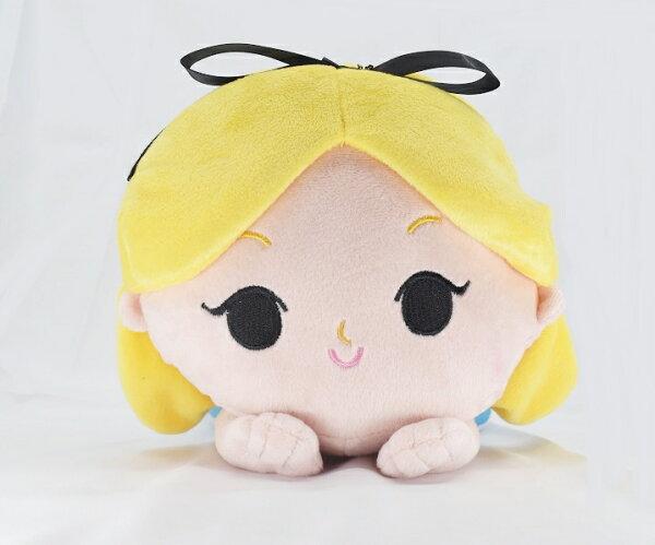 X射線【C171616】愛麗絲夢遊仙境Alice30cm,絨毛填充玩偶玩具公仔抱枕靠枕娃娃
