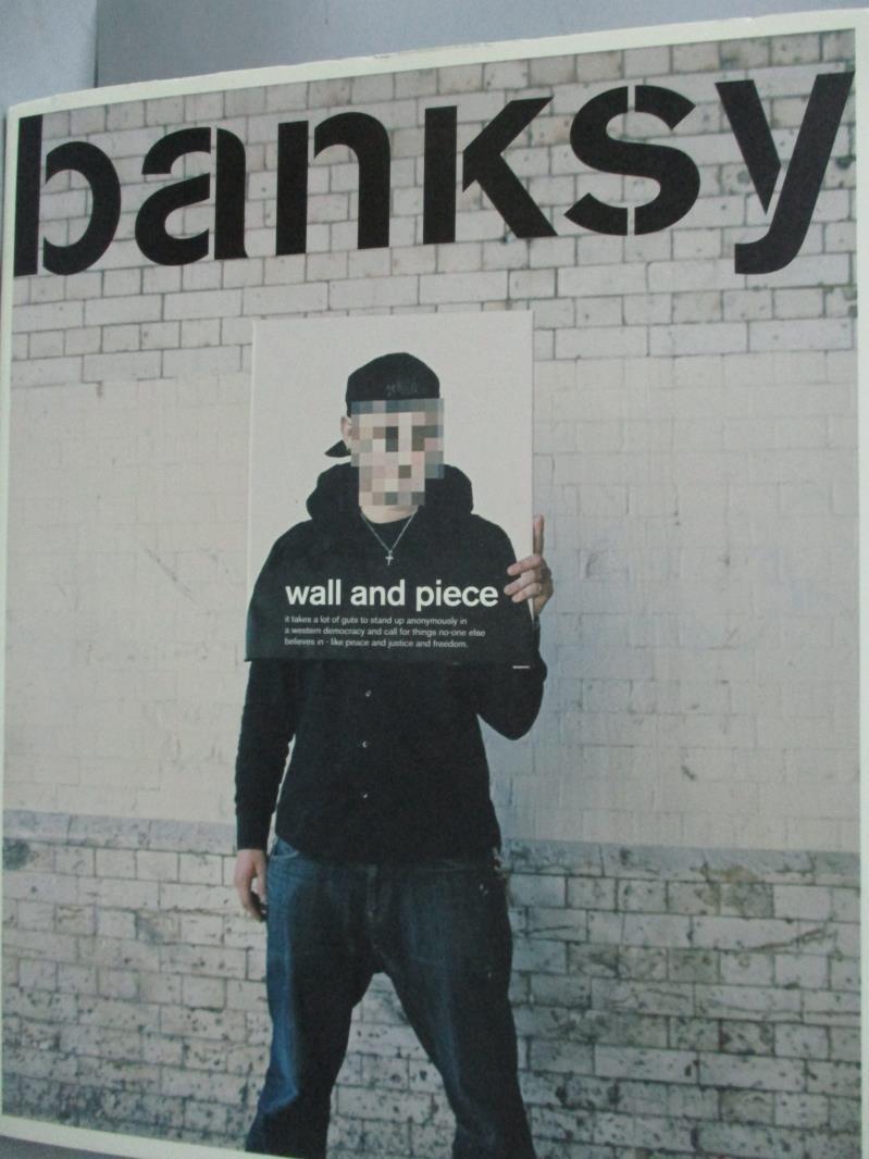 ~書寶 書T1/藝術_YBT~Wall and Piece~塗鴉教父Banksy官方作品集