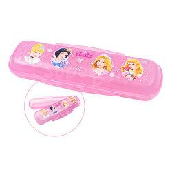 日本 迪士尼 Disney 雙邊扣餐具盒 迪士尼公主