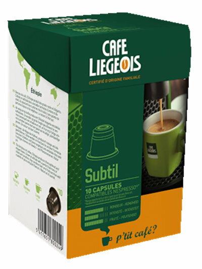 Liegeois 比利時 烈日咖啡膠囊~~ 蘇堤咖啡 Subtil Nespresso