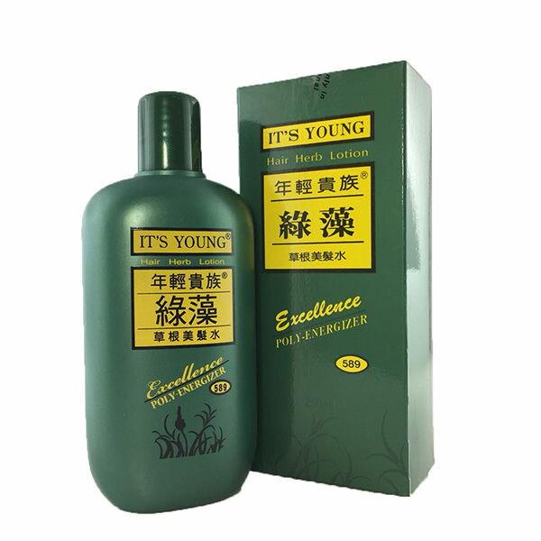 年輕貴族綠藻草根美髮水250ml