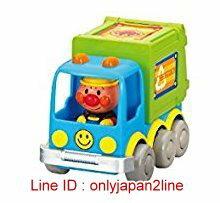 【真愛日本】16123000007發條車玩具3款-AP垃圾車   電視卡通 麵包超人 細菌人 兒童玩具 正品
