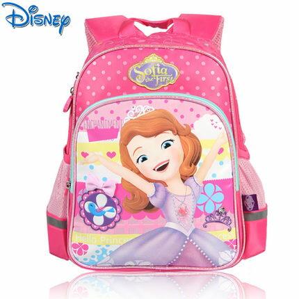 正版 迪士尼蘇菲亞公主系列 幼兒園書包 寶寶背包雙肩包 女童背包