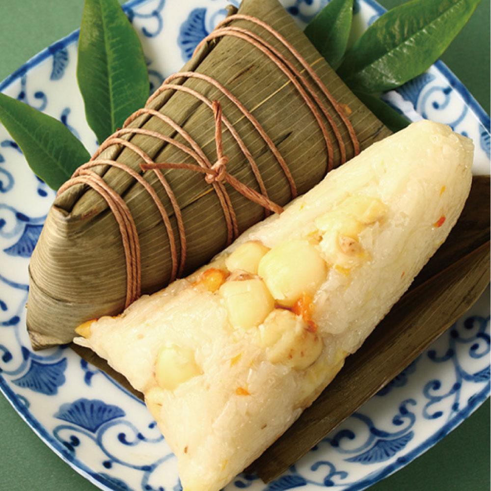 桔香蓮子潮州粽(4入)(全素) 1