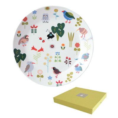 小鳥花園裝飾盤