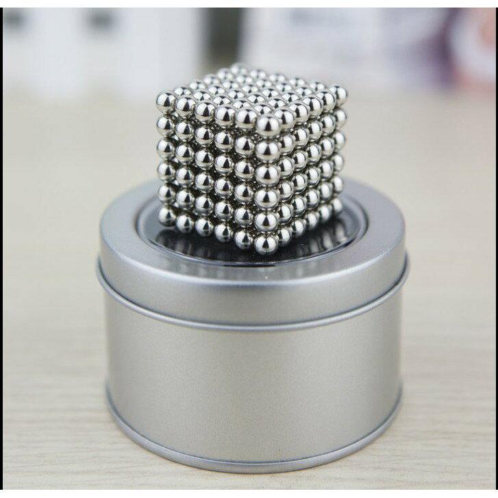 巴克球5MM 216顆 完整鐵盒裝 益智玩具 魔力磁球魔方 磁力球 磁力珠 兒童生日禮物【HF23】 5