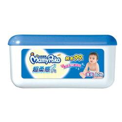 滿意寶寶 純水 超柔感 濕毛巾 盒裝 厚型 80張/盒
