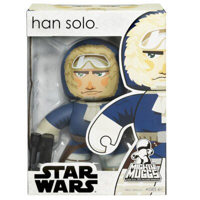 【Playwoods】《公仔模型王》[StarWars/星際大戰/星球大戰]Mighty Muggs-雪衣韓蘇洛 Han Solo Hoth