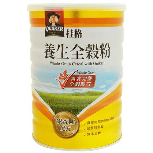 合康連鎖藥局:桂格養生全穀粉-銀杏果(奶素)600g【合康連鎖藥局】