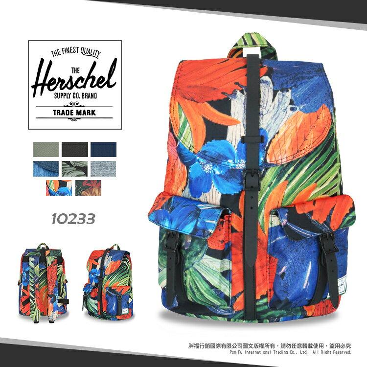 《熊熊先生》Herschel 加拿大潮流品牌 7折優惠 大容量 商務後背包 DAWSON 旅遊雙肩背包 13吋筆電包 10233 寬版背帶