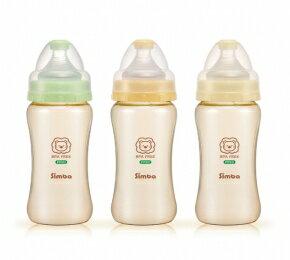 小獅王辛巴 PPSU寬口雙凹中奶瓶270ml(顏色採隨機出貨)【德芳保健藥妝】