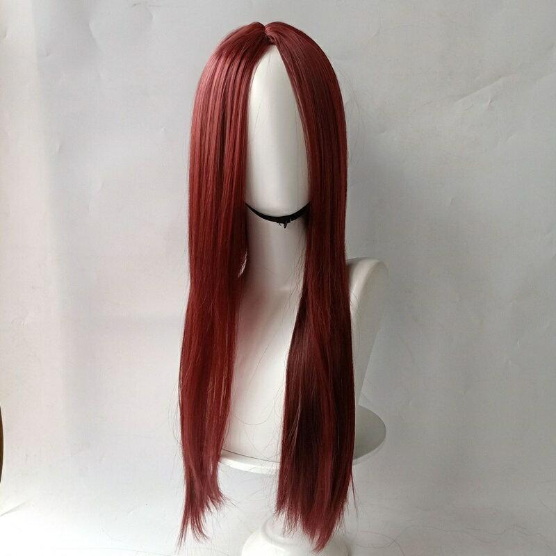 長假髮整頂假髮-時尚中分直髮逼真女假髮10色73vl29【獨家進口】【米蘭精品】