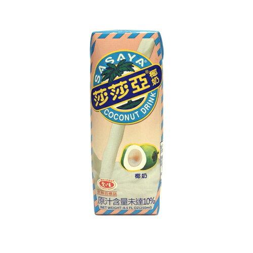 愛之味莎莎亞椰奶250ml*6入【愛買】
