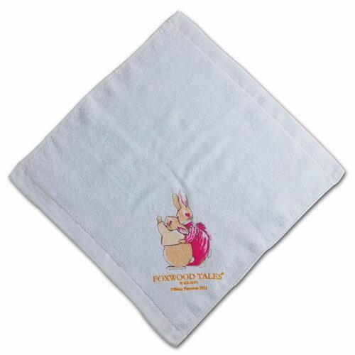 『121婦嬰用品館』狐狸村 嬰兒細絨小方巾 1