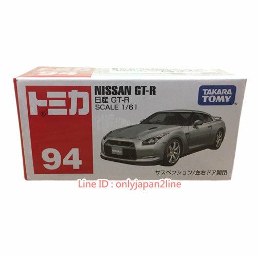 【真愛日本】17022100014TOMY車-日本限定NISSAN GT-R銀  TOMY多美小汽車 玩具 小車 正品 限量