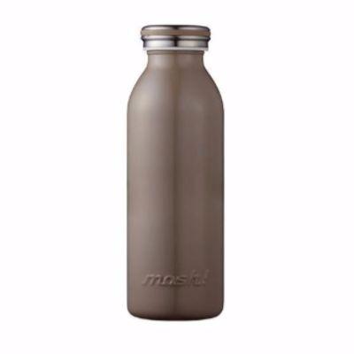 【日本mosh!】可可棕 牛奶系保溫瓶 (350ml)  免運特殺 0