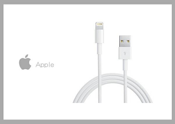 【贈iPhone傳輸線套(顏色隨機)】Apple適用 Lightning 8pin 電源連接傳輸線 1M (密封袋裝)