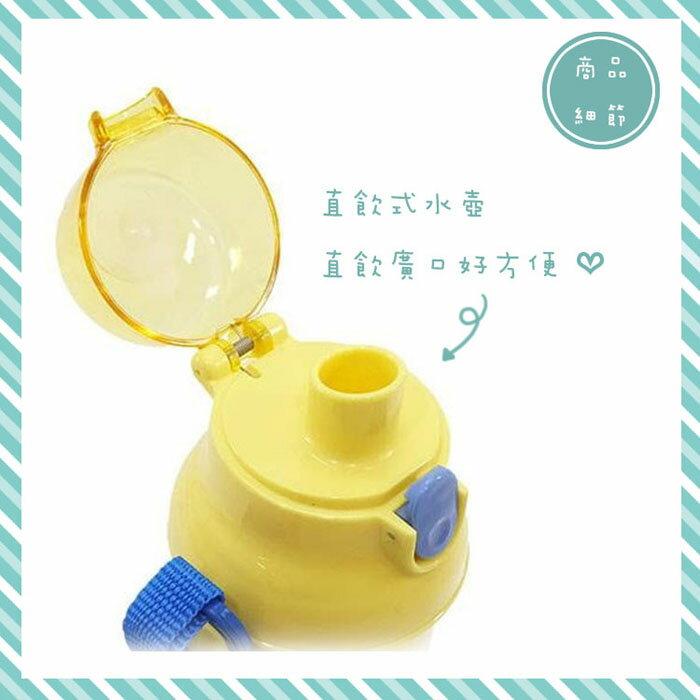 花河童 彈蓋直飲式水壺 480ML 日本進口正版 166303