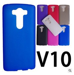 LG V10 星奇磨砂透明軟硅胶防保護套