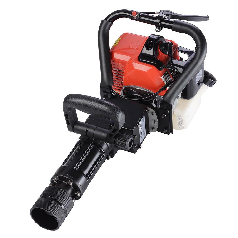 2in1 32.7cc Gasoline Demolition Jack Hammer Pile Piling Driver Chisel 2 Stroke w/ EPA Certification 1