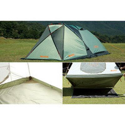 【鄉野情戶外專業】 LOGOS |日本|  Panel-L綠楓270四人露營帳篷(210x270cm)_LG71809501