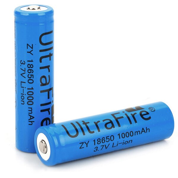 18650 充電電池 3.7V 鋰電池【樂天最低價】3000mAH 電扇電池 手電筒 風扇 頭燈電池 凸頭 尖頭 (19-310) 1