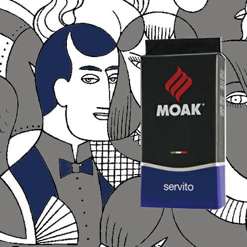 Servito 藍牌豆 MOAK 1公斤義式咖啡豆