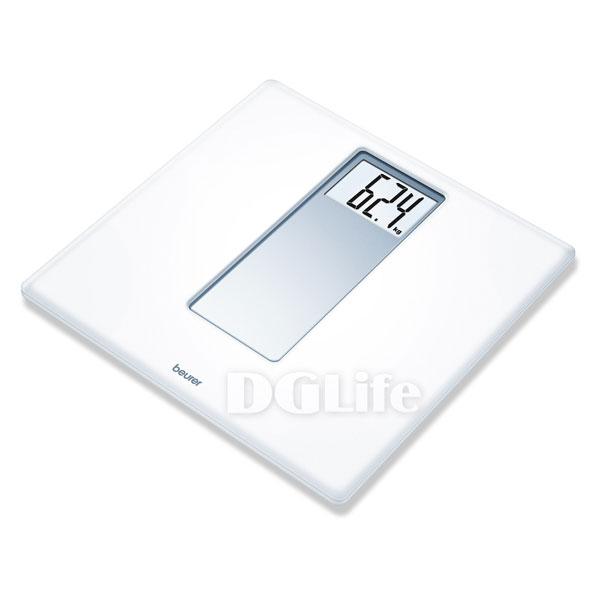 DGLife 德記生活網:《beurer》博依經典素雅電子體重計PS160