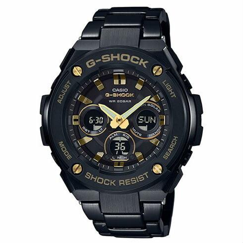 CASIOG-SHOCKGST-S300BD-1A絕對強悍時尚雙顯多功能腕錶50mm