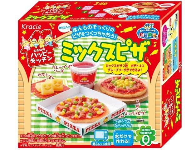 有樂町 新品 日本 食玩佳麗寶 Kracie 快樂廚房手作披薩(30g) 4901551354863 0