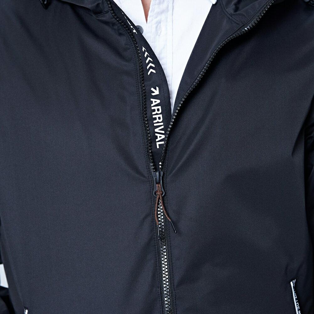 Lee 連帽防風外套 / UR-黑色-男款 5