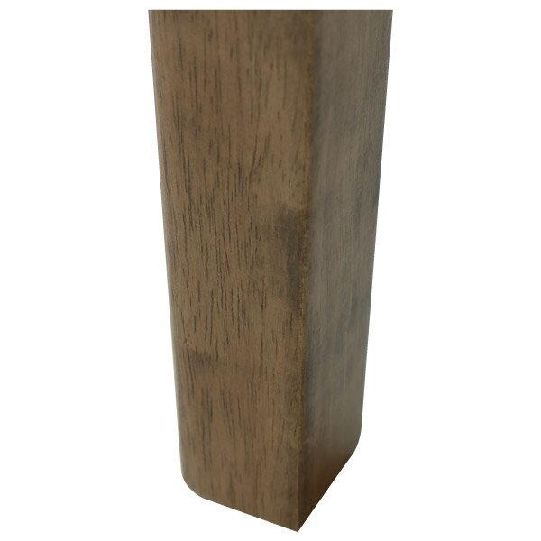 ◎(OUTLET)實木餐桌 SOLID2 135 MBR 橡膠木 福利品 NITORI宜得利家居 4