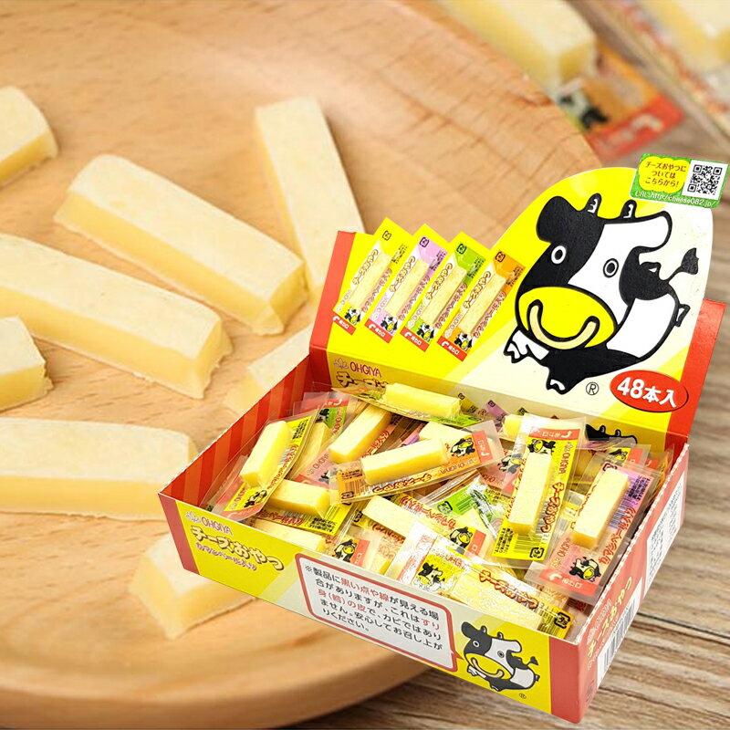 日本 扇屋食品 OHGIYA 一口鱈魚起司條 乳酪條 48入/盒 日韓小潼【消費滿999,全家取貨免運】【現貨+預購】