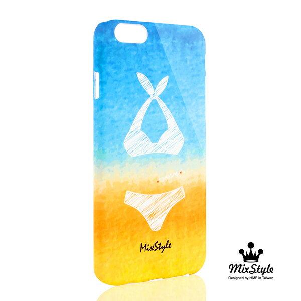 【限量19折】IPhone6 (4.7吋) 海洋風比基尼印花手機殼☆xenia_ok設計款☆【II018_I6】