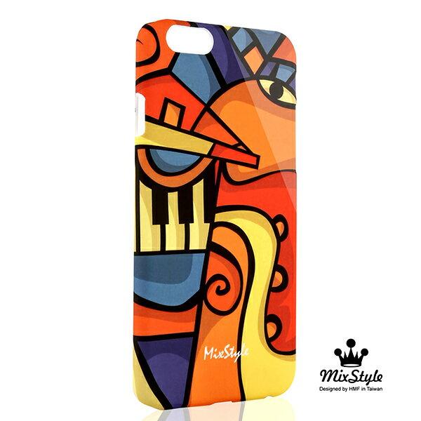 【限量19折】IPhone6 (4.7吋) 一人交響樂印花手機殼☆Anthony Krikorian設計款☆【II052_I6】