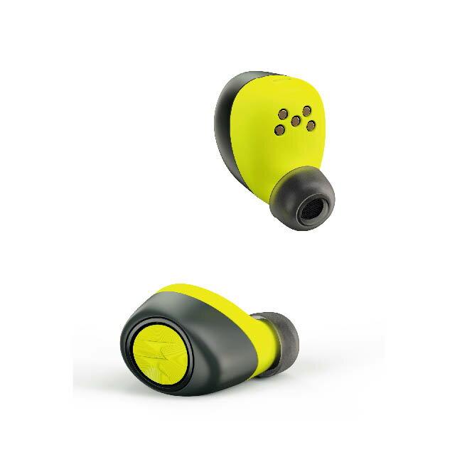 Motorola VerveOnes+ Music Edition 真無線藍牙耳機-黑色 檸檬黃 完全無耳機線 IP57防塵防水【迪塮軍】 3