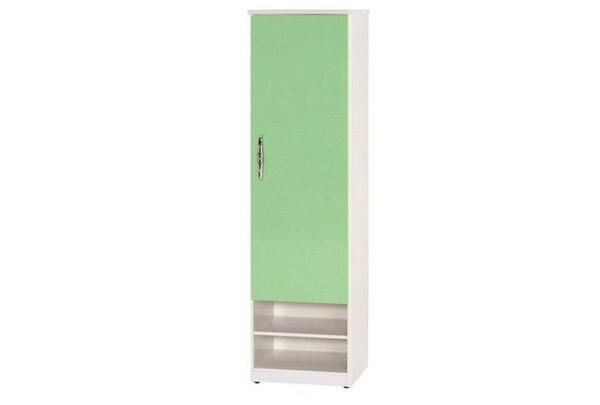 石川家居:【石川家居】876-08(綠白色)鞋櫃(CT-326)#訂製預購款式#環保塑鋼P無毒防霉易清潔
