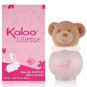 KALOO 無酒精寶寶香水 Lilirose莉莉熊香水 8ML ☆真愛香水★