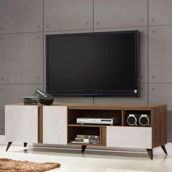 優世代居家生活館:電視櫃視聽櫃收納櫃置物櫃客廳收納《Yostyle》格林6尺電視櫃